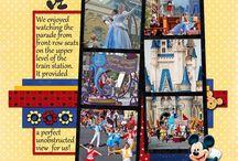Disney Scrapbook Ideas / by Sara Gramann