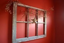PRIMITIVE / COUNTRY HOME DECORATING / DECORATING YOUR HOME WITH COUNTRY DECOR / by Nikki White