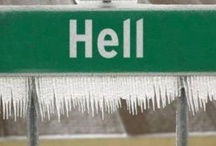"""The last word.... / """"Yea... when hell freezes over...."""" / by Kristen Layhee"""