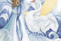 elfes, fées, anges, dragons etc.. / by Michèle64 DUFLOT
