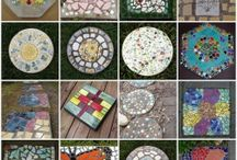 Garden stepping stones / by K Whitehurst