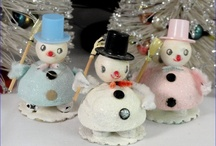 Retro Ornaments from 1950s to 1980s / by Kathy Grimm