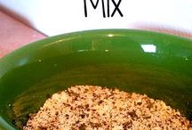 DRY MIXES / by Annette Brown