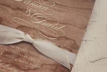 Inspiration - Wedding Invitation - Papeterie / by Youdid Design by Judith P.