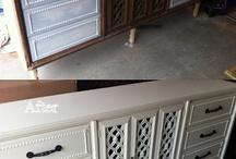 Furniture re-do inspiration / by Katrina Gomez Dziepak