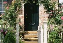 Doors/Wreaths / by Malinda Baggett