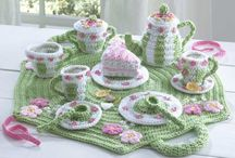 Amigurumi Crochet Tea Sets and Foods / by Maggie's Crochet