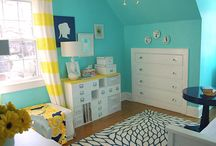 For a Tiny Bedroom / by Carrie Orlowski