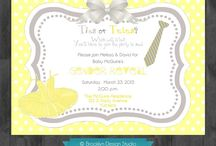 Party Invitations / by Seshalyn's Party Ideas