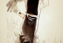 Fashion Illustration / by Phyllis Christoph
