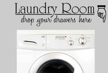 laundry room / by Tracy Russell