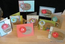Stampin' class in mail  / Visit my blog at www.frenchiestamps.com to order   / by Stamp & Scrap with Frenchie