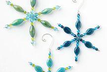 Christmas Ornaments / DIY craft ornaments for Christmas or Xmas, seasonal  / by Kimmarie Degrange