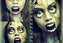 Halloween Makeup / by ☆ ♏rs3strella