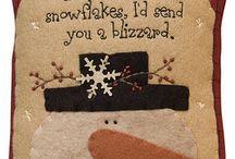 snowmen / by Lisa Valkavich