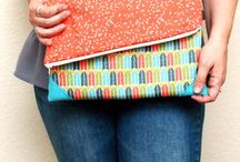 Couture sacs, pochettes, trousses / Sewing bags and clutchs / by Une Grenouille et des Crapauds