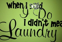 Laundry room.... / by Kasie Ulbig