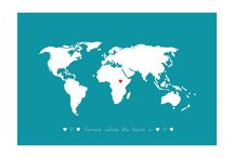 Long Distance Love / by Girl ✈ Gone International