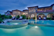 Pool and Lounges / Belizean Cove Estates is surrounded by a bevy of cascading pools and lounges for you to relax and enjoy the cool breezes of the Caribbean. / by Belizean Cove Estates