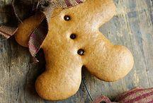 Gingerbread ornaments / by Genelle McDaniel