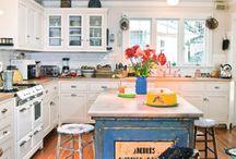 Kitchen ideas / by Rebecca Baker