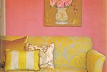 Pink and Yellow / Just love the colors together / by Debbie Keady