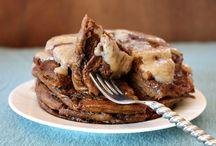 Pancakes nom nom nommm / by amanda gibbs