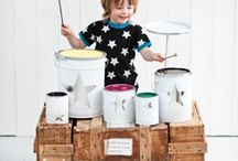 MUSIC / ZING BOOM BANG! make music, make instruments / by fawn&forest