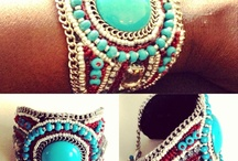 Beaded bracelets / by Camille Gude