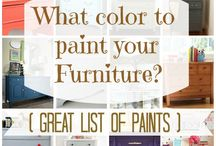 Painting furniture / by Lee Ann Shaffer - Smith