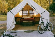 From Camping To Glamping / Gear for the gal who loves Mother Nature's gifts / by Stevi Mahaffey