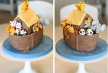 noahs ark cake / by Fancy Fondant Cakes by Emily Lindley