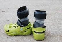 Jarretts leg braces / by Tanya Watson