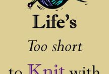 Knitting / Crocheting / Wish I was so talented. My eldest daughter is the knitter! / by Susan O'Neill