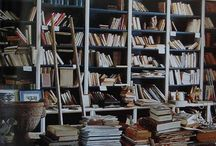 Books, Bookshelves and Book Art / by Michelle Maher