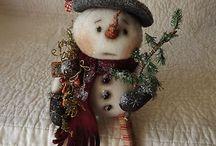 Snowmen  / by Mary Boyd Amore
