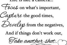 Words to Live By / Great quotes / by Brandi Mailliard