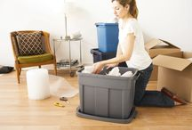 Packing Organization / Rubbermaid has solutions to make packing from place to place stress-free and easy. / by Rubbermaid