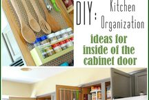Kitchen Organization Ideas / by Mary Shaw