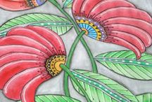 Doodles and Art Journals / by marianne Noller