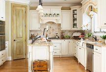 Kitchen Design, Decor, Pantries & Gadgets / by Kathie Asche