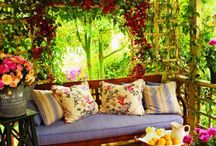 My dream garden/ outdoor spaces / by Kimberly Parsons