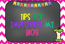 Tips for Improving My Blog / Here are tips and ideas for helping me grow my blog and improve my skills as I learn more.  / by Kindergarten Crayons