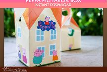 Peppa Pig Birthday Picnic ideas  / by Pretty Little Vintage {Melbourne}