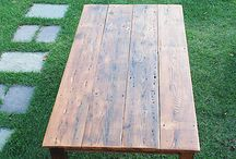 Tables / by Hitched in the Hood