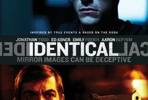 """Identical (Movie) / (Short Synopsis) """"When identical twins fall for the same woman, secrets are revealed, setting an irrevocable chain of events into motion. Now one of them has blood on his hands … Inspired by true events."""" (Starring) Jonathan Togo (CBS's CSI: Miami, Mystic River), Ed Asner (TV's Mary Tyler Moore, Up, Elf), Emily Foxler (Ghosts of Girlfriends Past), and Aaron Refvem (TV's General Hospital). / by Green Apple Entertainment"""