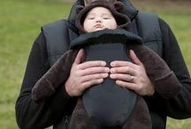 Safe Babywearing / Boba is the only baby carrier company that exclusively sells baby carriers that keep baby facing inward. Research shows that carrying baby facing inward helps baby attach in a healthy way to parents and prevents hip dysplasia, allowing baby to stay safe and healthy, both physically and psychologically. / by Jennifer {Fab Fatale}