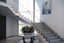 stair ideas / by Val Eliza