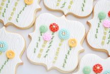 cookie decorating / by Kristina W