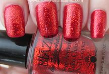 Ruby Wing/Blaze Nail Polish / by Midnight Manicures